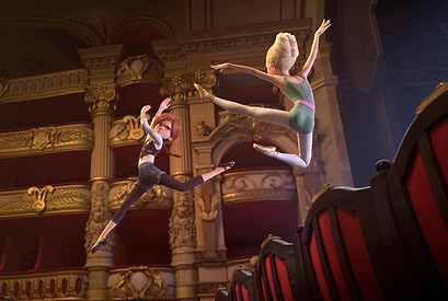 バレエでタイマン