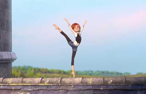 屋根の上で踊る