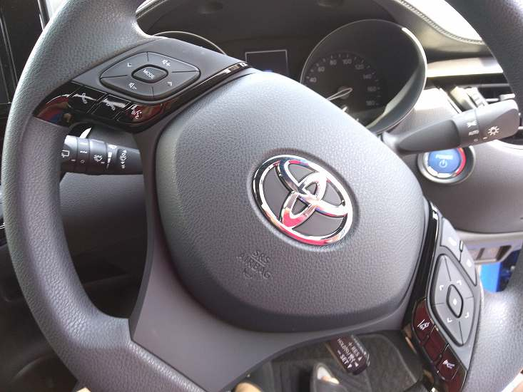 トヨタ車のハンドル