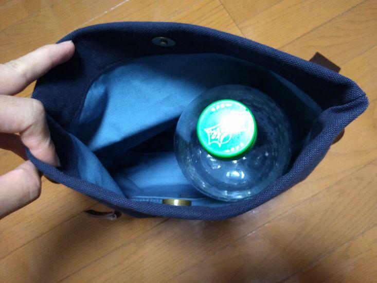 1.5Lのペットボトルを入れる