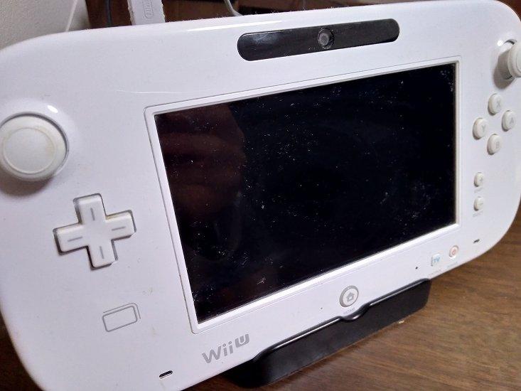 WiiUのコントローラー