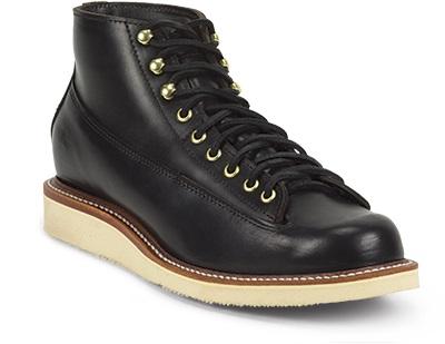 ラバーソールのブーツ(黒)
