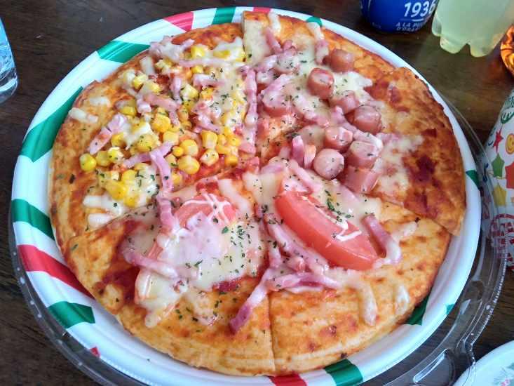 ヨークベニマルで販売されていたピザ