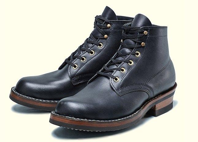 ホワイツのブーツ(ブラック)