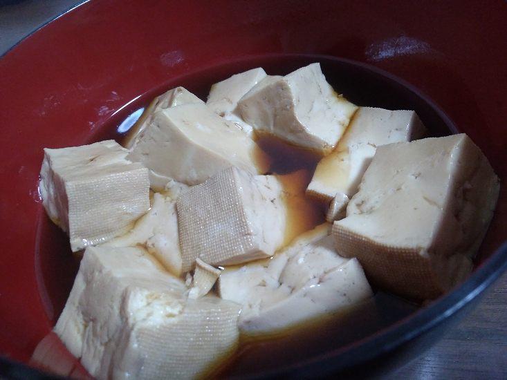 お椀の中の湯豆腐
