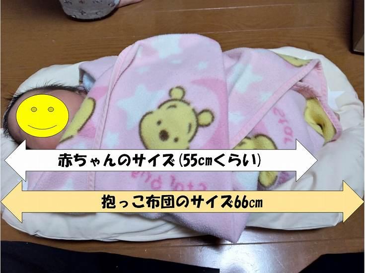 赤ちゃんと布団のサイズ