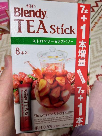 ブレンディの紅茶(イチゴ)パッケージ