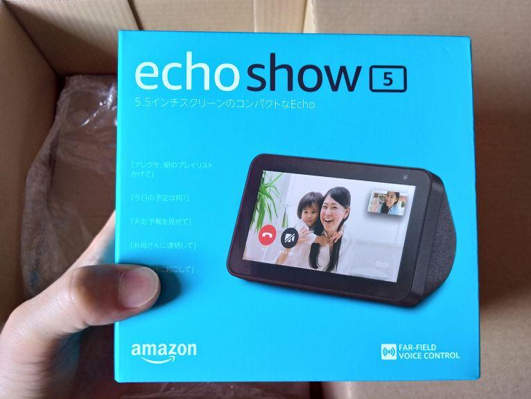 echoshow5パッケージ表