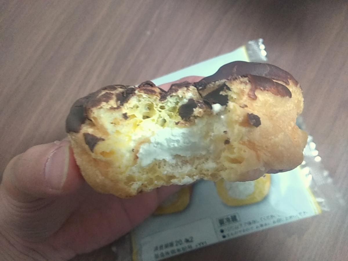 ドーナッツの中のクリーム