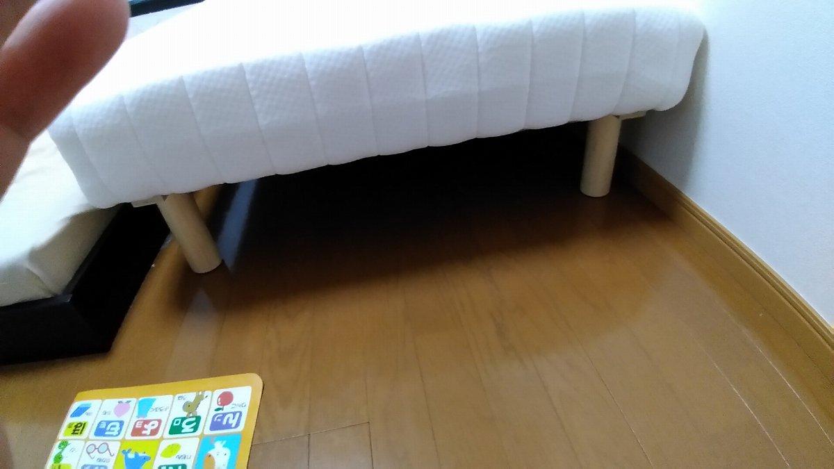 白いベッド(マットレス)