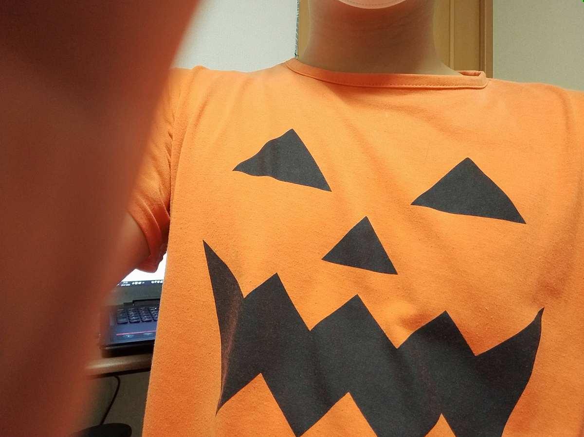 ハロウィンのTシャツ