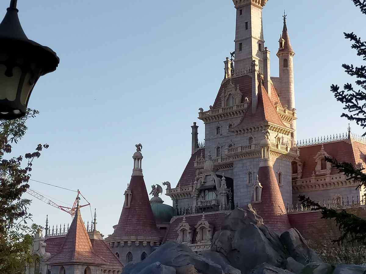 ディズニーランドにあるお城