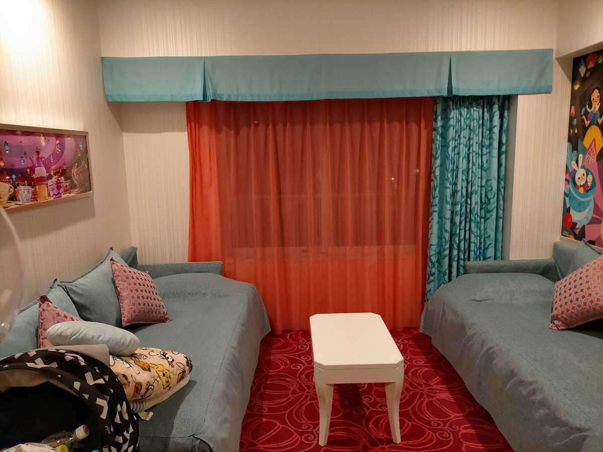 セレブレーションホテルの部屋の内装