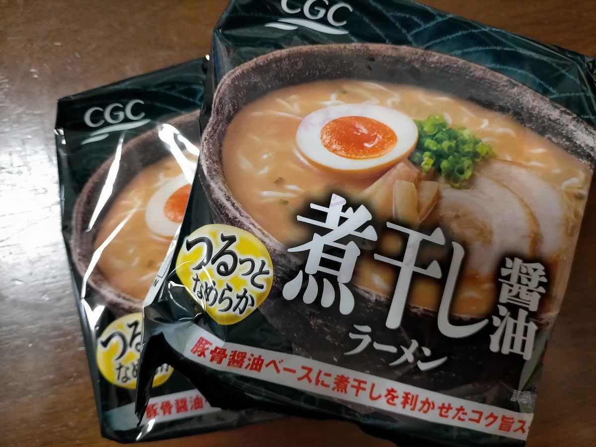 CGC煮干し醤油ラーメン