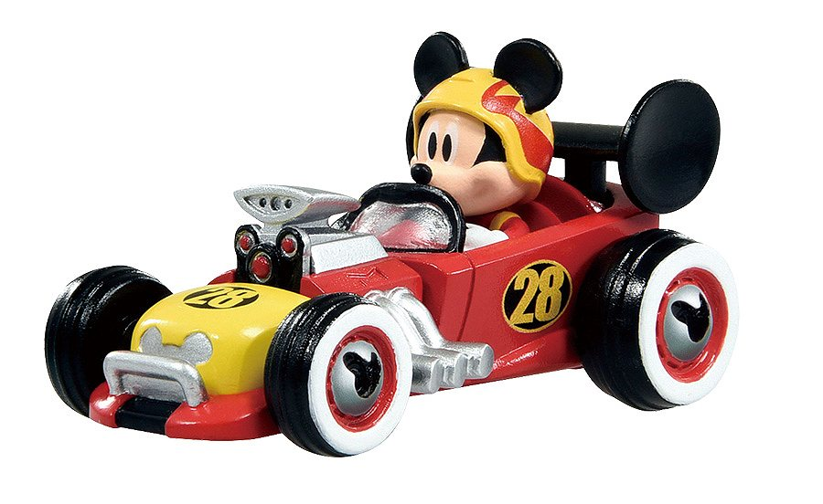 ミッキーが乗ったスポーツカー