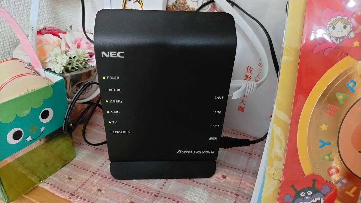 NECのルーター