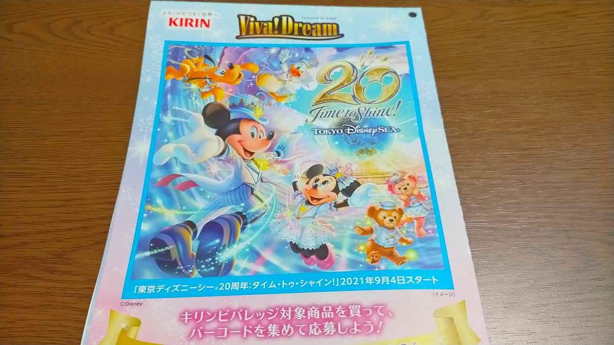 Viva!Dreamキャンペーン応募用紙